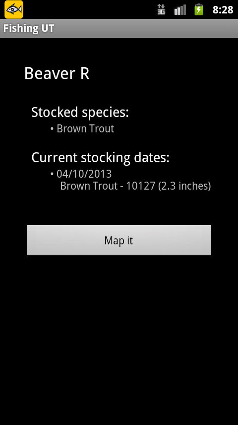 Fishing ut stocking report android apps on google play for Utah fish stocking report