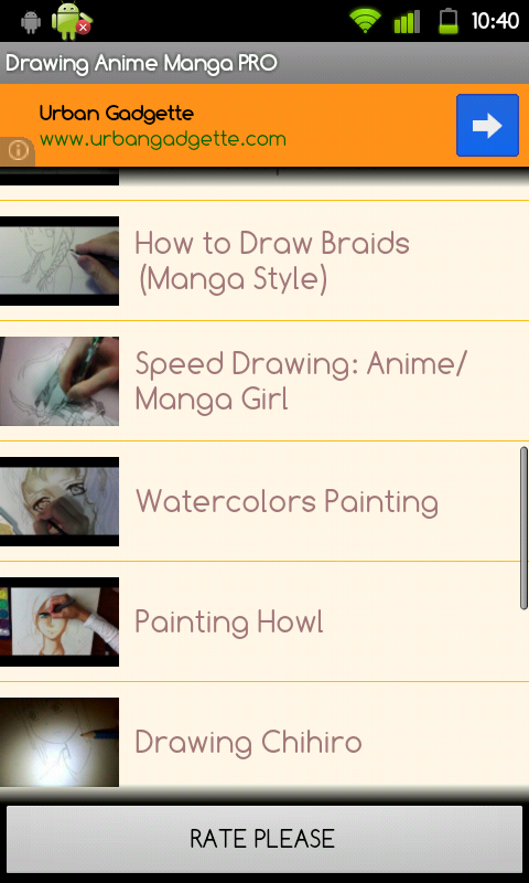 Drawing Anime Manga PRO - screenshot