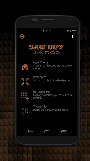 Sawcut_Square - Icon Pack