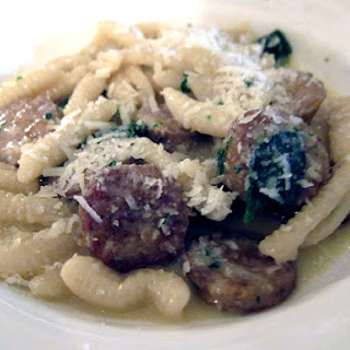 Cavatelli with Sausage and Sage Browned Butter