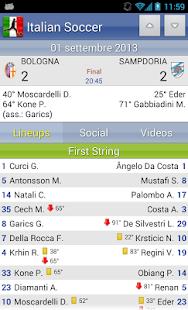 Italian Soccer 2016/2017 Screenshot 25