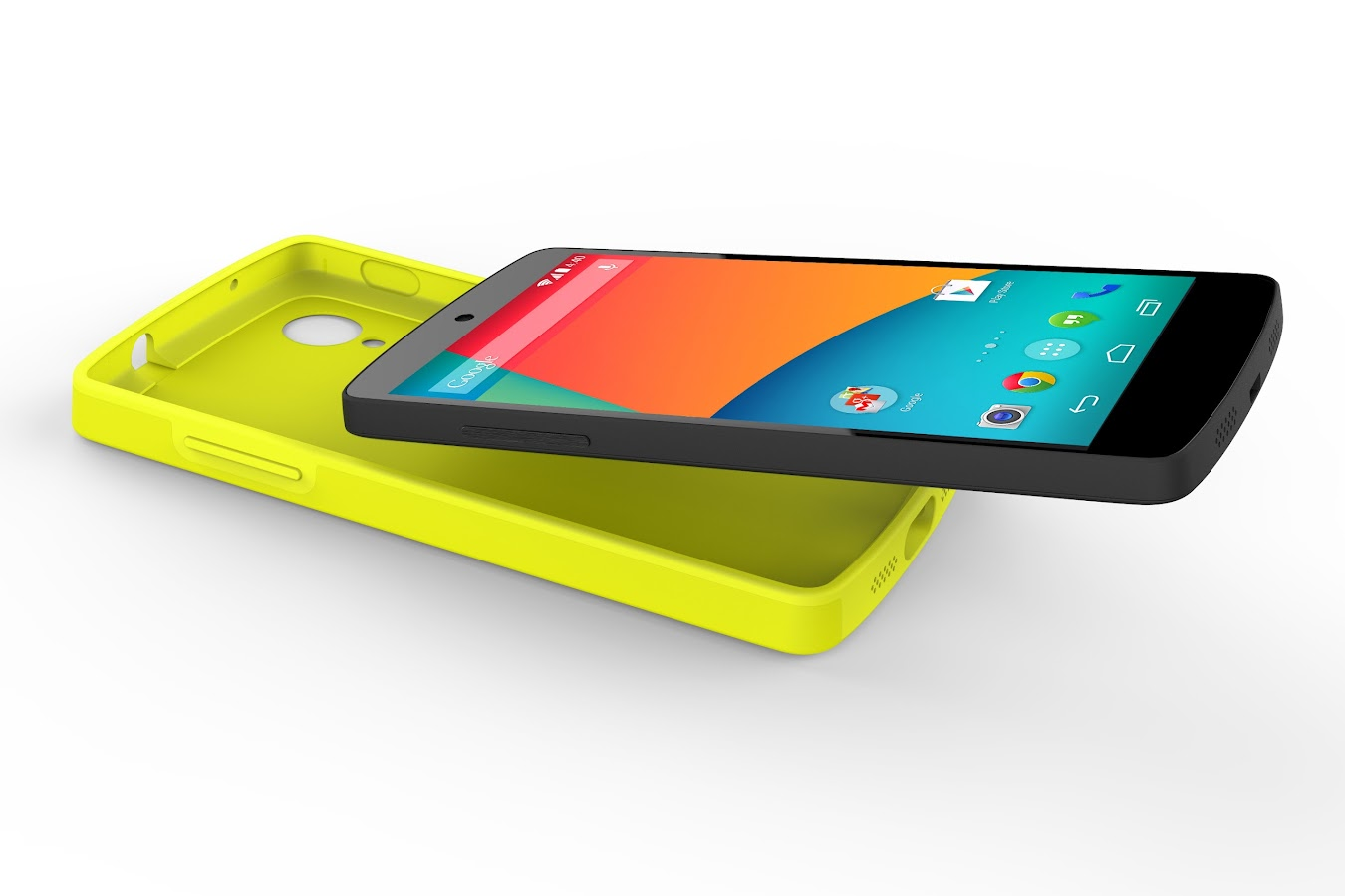 Nexus 5 Bumper Case (Bright Yellow) - screenshot