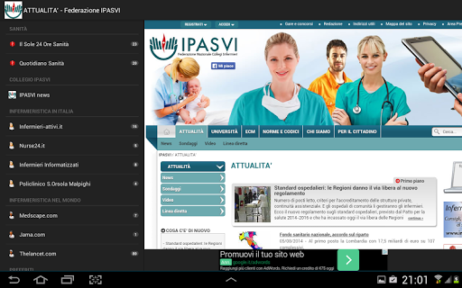 Infermieri News|玩新聞App免費|玩APPs