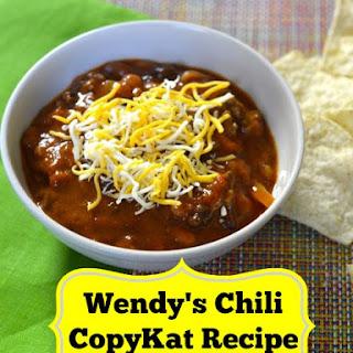 Wendy's Chili