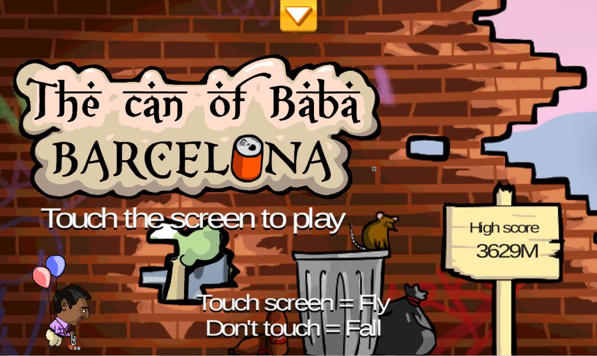 The can of Baba: Barcelona- screenshot