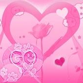 GO SMS Pro Theme Valentine