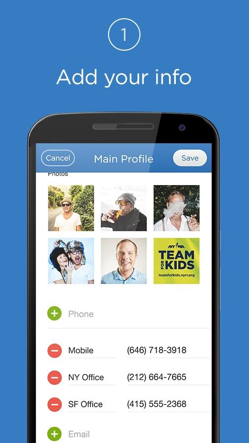 Shoot Contact Sharing- screenshot