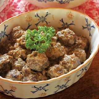 Finnish Beef Meatballs
