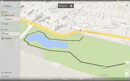 Maps Measure Screenshot 1