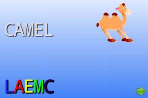 Screenshot of ABC alphabet/abeceda