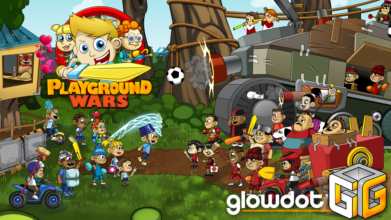Playground Wars- screenshot