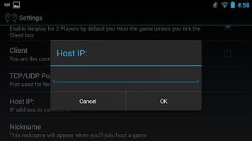 Screenshot of RetroidNetplay