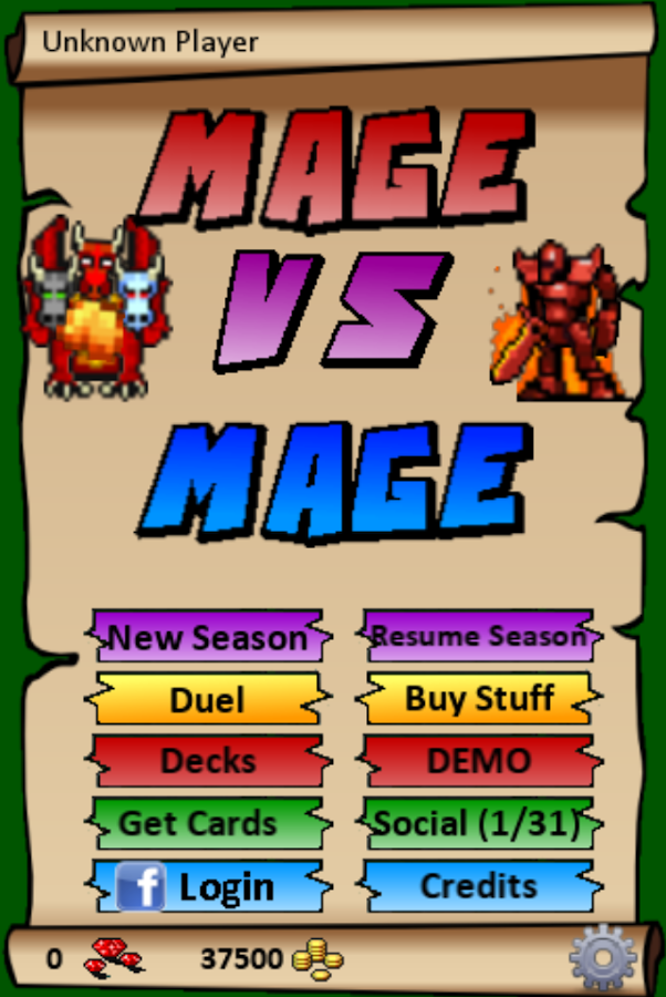 Mage Vs Mage- screenshot