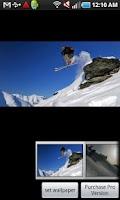 Screenshot of Skiing Powder