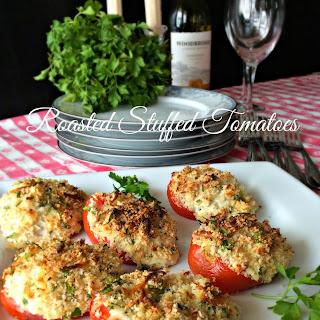 Roasted Stuffed Tomatoes.