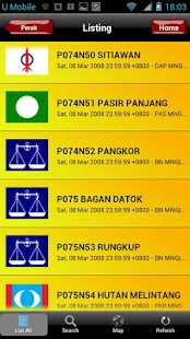 Undi PRU13 Malaysian Election- screenshot thumbnail