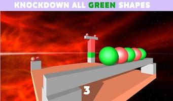 Screenshot of BrickDown 3D Physics Puzzle