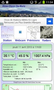 Météo Oloron (64)- screenshot thumbnail