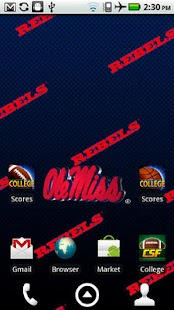 Ole Miss Rebels Live Wallpaper- screenshot thumbnail