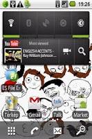 Screenshot of Troll Face Live Wallpaper