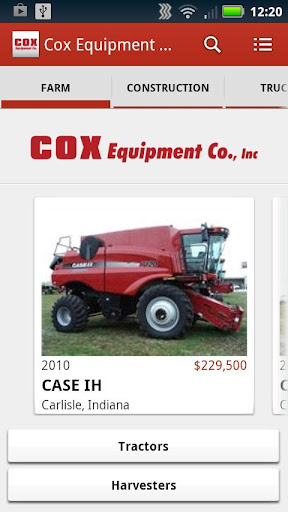 Cox Equipment Inc.