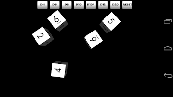 Screenshot of Dices 3D Free