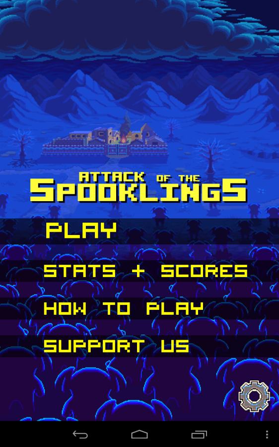 Attack of the Spooklings FREE - screenshot