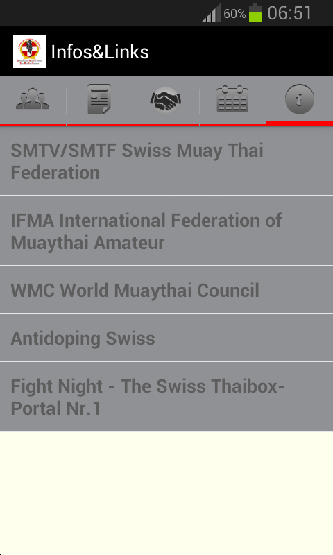 MyMuayThai- screenshot