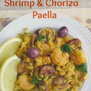 Shrimp And Chorizo Paella
