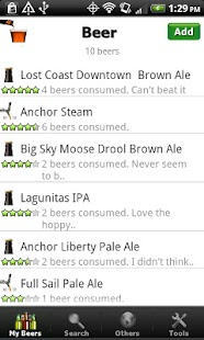 Beer + List, Ratings & Reviews - screenshot thumbnail