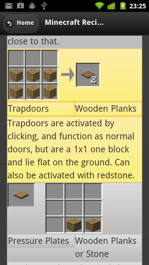 Crafting recipes for minecraft android apps on google play crafting recipes for minecraft screenshot forumfinder Choice Image