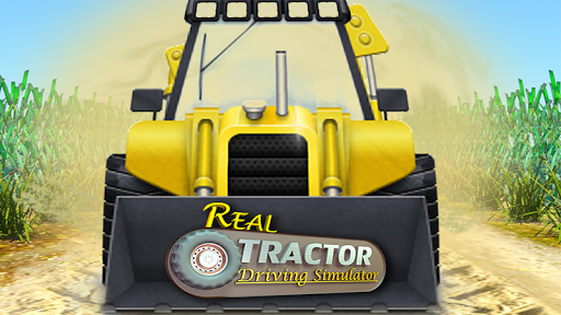 Real Tractor Driving Simulator