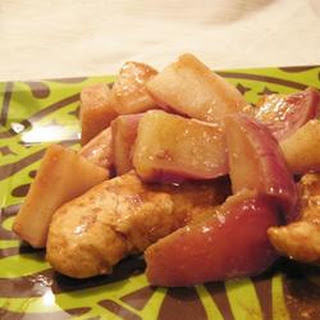 Em and Nic's Apple Chicken