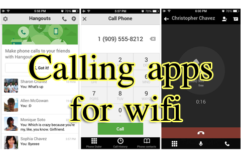 Calling Apps For Wifi