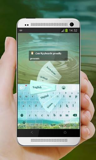 美麗的湖泊 GO Keyboard