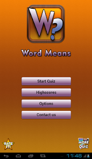 Word Means- screenshot thumbnail