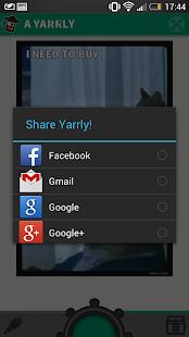 Yarrly - screenshot thumbnail
