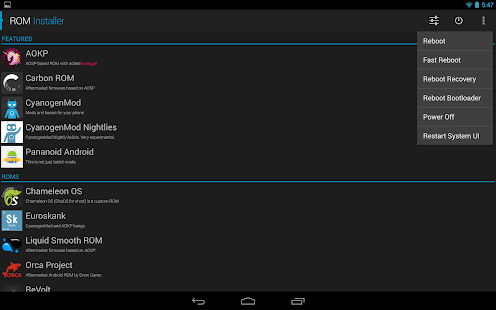 ROM Installer 1.2.1.0 APK Android