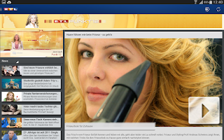 Screenshot of RTL INSIDE