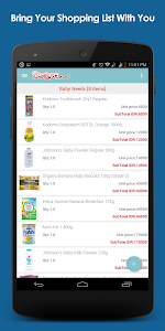 Seroyamart.com - Shopping List screenshot 0