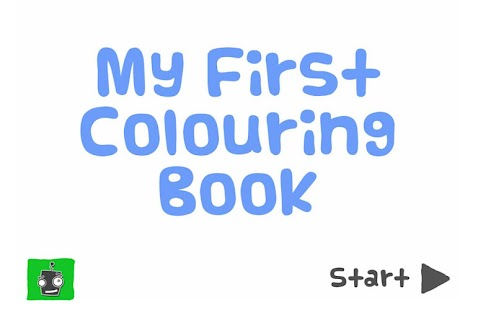 My First Colouring Book - Free