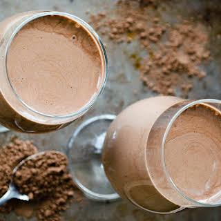 Raw Chocolate Smoothie.