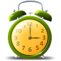 Colorful alarm (Alarm clock) logo
