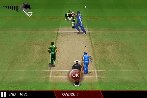 ICC Cricket WC 2011 Trial - screenshot