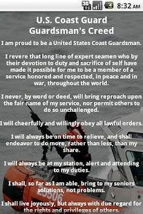 Coast Guard Creed- screenshot thumbnail