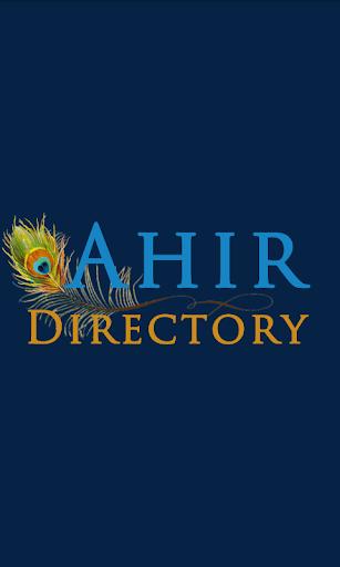 Ahir Directory
