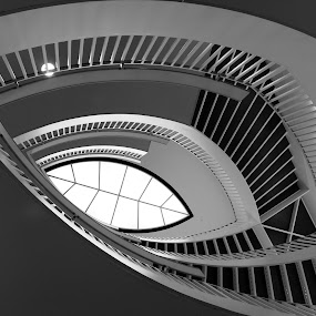 The Staircase by Maureen Rueffer - Abstract Patterns ( abstract, staircase,  )