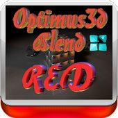 Red Optimus 3D Blend