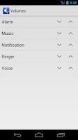 Screenshot of Volume Widget