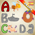 Spanish Alphabet Puzzles Kids icon